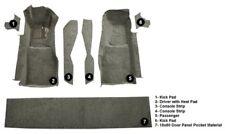 1981 - 1982 Corvette C3 FRONT Carpet Set w/Door Panel  (7 Piece Cutpile)