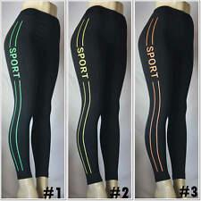 Fashion YOGA Gym Running Fitness Fleece Leggings Sports Pants Sportswear Women