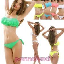 Bikini traje de baño banda FLECOS dos piezas moda de baño mujer NUEVO B3187