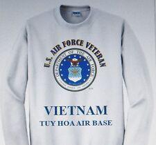 VIETNAM: TUY HOA AIR BASE*  U.S. AIR FORCE EMBLEM SWEATSHIRT