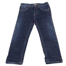 4907U jeans bimba DOLCE&GABBANA D&G blu denim trouser pant kid