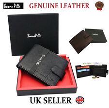 Réel portefeuille en cuir véritable pour homme créateur buono … pelle carte de haute qualité boîte cadeau