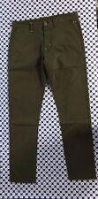 Pantalone SUN 68 Uomo - Chino Stretch - Verde Militare - P2712
