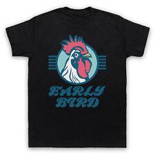 Early Bird eslogan Retro Fresco Tarjeta Vertical persona de la mañana temprano para Hombre Mujer Niños Camiseta