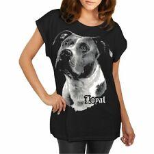 Women T-Shirt American Staffordshire Terrier Faithful Friend Loyal Race Spells