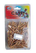 50 100 200 300 500 1000 pièces Mini bois Pince à linge déco lavage attache