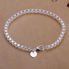 Figaro Armband  Armreif Panzerarmband Silber pl. 20cm  Damen Armband Figaro 20/5