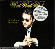 WET WET WET - She's All On My Mind (UK Ltd Ed 4 Tk CD Single Pt 1/Calender)
