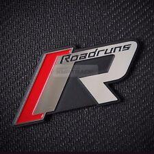 Roadruns Emblem Front Radiator Grille Trunk Point Logo Badge 1ea for All Vehicle