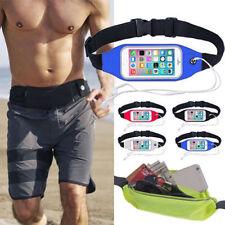 Waterproof Sports Waist Belt Bag Fanny Pack Running For iPhone XS Max XR X 8 7 6