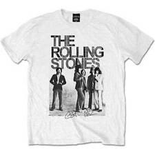 Rolling Stones Est. 1962 Group Photo Official Merchandise T-Shirt M/L/XL - Neu