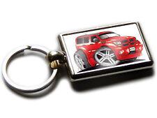 DODGE NITRO SUV Car Koolart Quality Chrome Keyring Picture Both Sides!