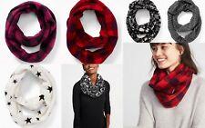 NWT Old Navy Women Infinity Scarf Performance Fleece Soft Warm Winter Wrap Snood