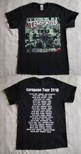"Terrorizer official T-shirt ""Darker days ahead.Euro Tour 2018"" black NEW (M,XL)"