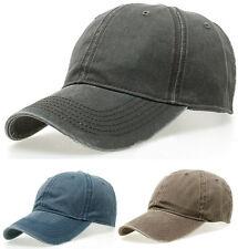 SOMMER Vintage WASHED Basecap Baseball Kappe Cap UV-Schutz USED LOOK 56 57 58 59