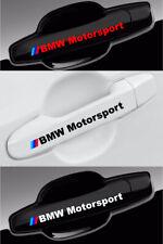 BMW Motorsport Decals For Wheels Door Handle Mirror Vinyl Graphics Emblem - 4pcs
