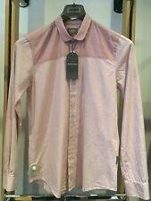 Peter Werth Shirt Red/White Stripe Sizes S,M,XXL RRP £60