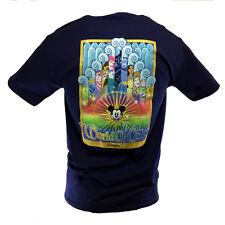 DISNEY World of Color Men's T-Shirt Mickey Toy Story Nemo Lion King Aladdin Dory