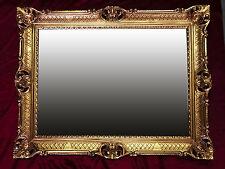 Espejo de pared Dorado Antiguo Barroco ROCOCO 90x70 cm Decoración pasillo Repro