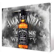 JACK DANIELS Whisky Bar /& Club Bild auf Leinwand Abstrakt Wandbild  XXL 1216A