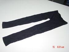 NWT Junior Womens Poof Leggings Black Lace Pattern Cuts Trendy Stylish