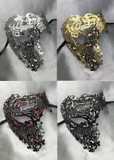 Phantom of the Opera Inspired Womens Mens Laser Cut Venetian Masquerade Mask