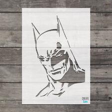 Batman STENCIL Template Famous People Large Superhero Batman Face Decor