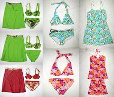 BIKINI w Cover-up Swimdress Women Beach Bathing Suit Swim Dress Skirt Cover Up