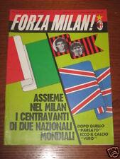 FORZA MILAN 1985/7-8 ADDIO CALCIO FESTA GIANNI RIVERA