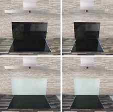Glasrückwand Küchenrückwand Wandverkleidung Spritzschutz weiß schwarz ESG Küche