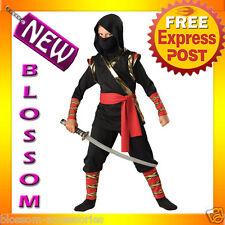 CK31 Ninja Child Kids Boys Fancy Dress Up Party Halloween Costume