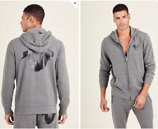 True Religion Brand Jeans Men's Splatter Hoodie Jacket MSMBN4N160 $149 Sz:L XL