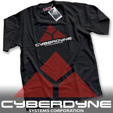 CyberDyne Systems Terminator Skynet Tee Movie Geek - Premium Mens Black T-Shirt