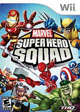Marvel Super Hero Squad (Nintendo Wii, 2009) Complete
