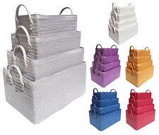 Neon Bright Colours Toys Kids Nursery Organiser Playroom Cupboard Storage Basket