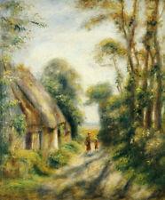 "PIERRE AUGUSTE RENOIR ""Outskirts Berneval"" CANVAS ART various SIZES, BRAND NEW"