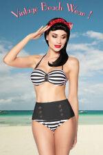 Wunderschöner Eleganter Vintage-Bandeau-Bikini Aufregender Bikini, Erotisch,