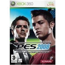 Pro Evolution Soccer 2008 (Microsoft Xbox 360, 2007)