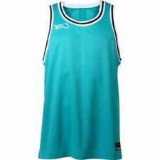 k1x Basketball - Hardwood Double X Jersey - aqua/weiß