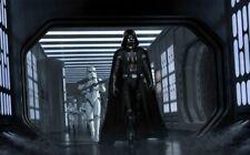 Darth Vader Stormtroopers Death Star Hallway Amazing Detailed Star Wars Fine Art