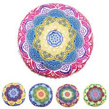 Indian Mandala Pillows Cushions Round Bohemian Home Cushion Pillows Cover Case