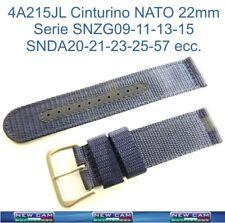 CINTURINO CORDURA NATO SEIKO 22mm SNZG/SNDA ORIGINALE