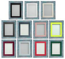 Frame company Lynton gamme RUSTIQUE BLEU CADRE PHOTO IMAGE avec support