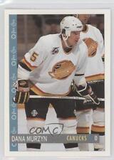 1992-93 O-Pee-Chee #241 Dana Murzyn Vancouver Canucks Hockey Card