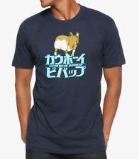 Anime COWBOY BEBOP behEINd EIN KANJI T-Shirt NEW 100% Authentic