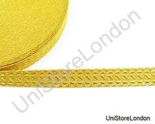 Braid Staff Lace Gold Mylar 13 mm Rank Marking Trim R917