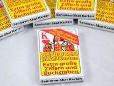 Skat-Karten extra große Zeichen Skat Karten Seniorenskat Senioren Skat 32 Blatt