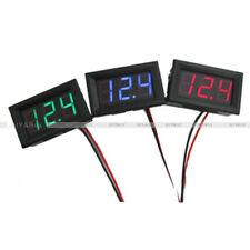 """0.56"""" DC4.5/4.7/5V-30V Voltmeter LED Panel 3 Digital Display Volt Voltage Meter"""