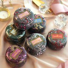 Gold-Plated Jewelry Storage Box Candy Candle Jar Christmas Wedding Box Gift