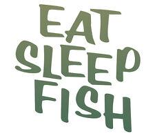 Eat Sleep Fish fishing t shirt,bass,muskee,crappie,fresh water,salt ocean lake